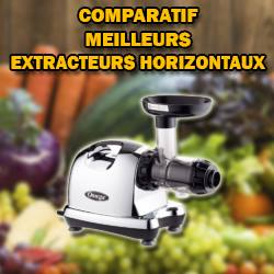 Comparatif extracteur de jus horizontal icono1
